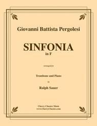 Sinfonia in F for Trombone & Piano