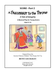 A Successor to the Throne Score Part 2