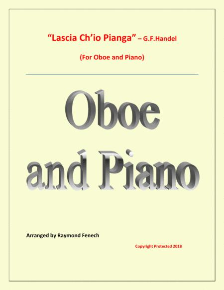 Lascia Ch'io Pianga - From Opera 'Rinaldo' - G.F. Handel (  Oboe and Piano)