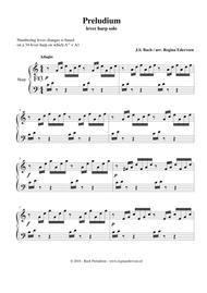 Preludium (Bach) - lever harp solo