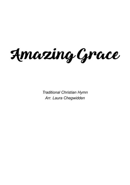 Amazing Grace for String Quartet