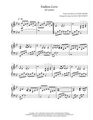 Endless Love - Lionel Richie - Piano Solo