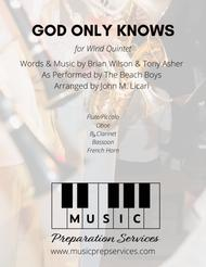 God Only Knows - The Beach Boys (Wind Quintet)