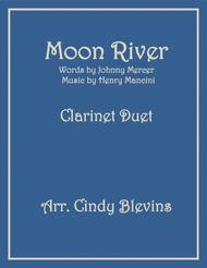 Moon River, arranged for Clarinet Duet