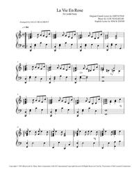 La Vie En Rose - Edith Piaf - Pedal Harp Solo