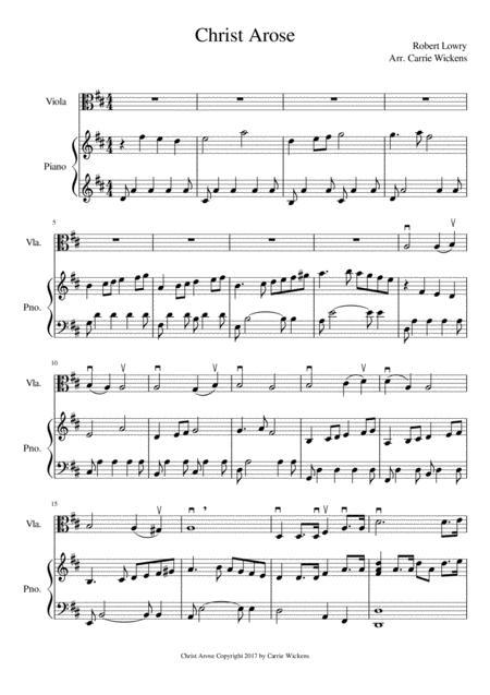 Christ Arose Viola