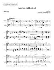 Download America The Beautiful (violin/cello Duet) Sheet