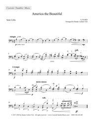 America The Beautiful (solo violin, viola, or cello)