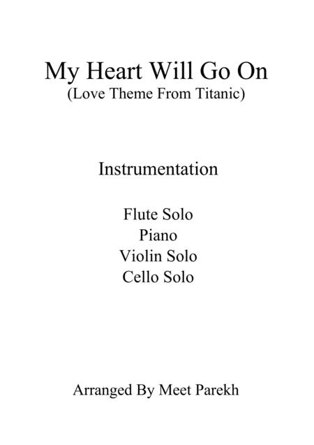 My Heart Will Go On (Love Theme from Titanic) For Chamber Orchestra