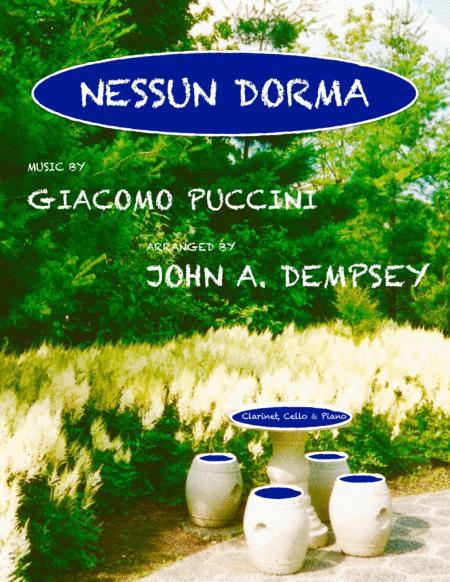 Nessun Dorma (Trio for Clarinet, Cello and Piano)