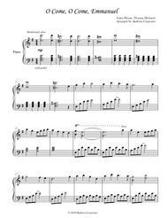 O Come, O Come Emmanuel (Piano)
