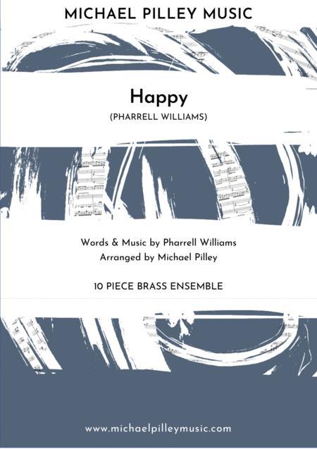 Happy (Pharrell Williams) 10 Piece Brass Ensemble