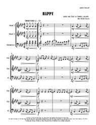 Happy - String Trio (2 vlns / vc)