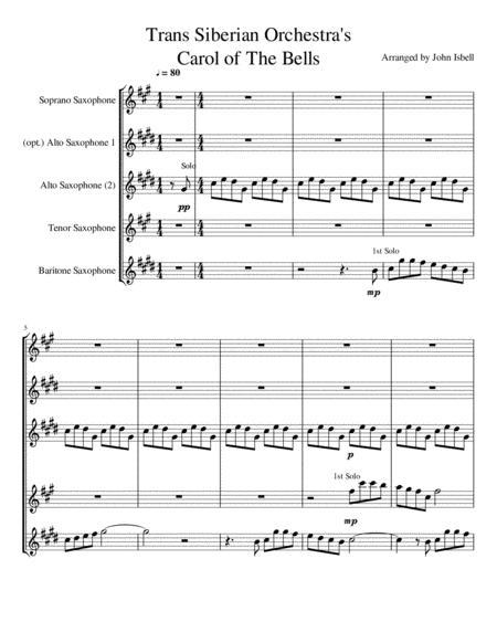 Carol Of The Bells (Trans Siberian Version)