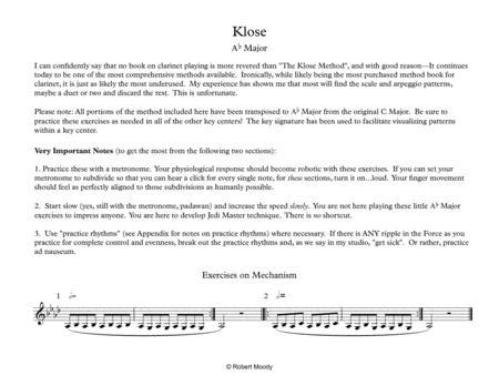 Klose in Ab Major