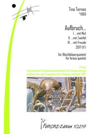 Aufbruch (Awakening) for brass quintet (11')