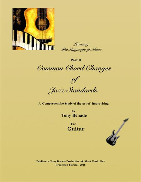 Common Chord Changes of Jazz Standards for Guitar