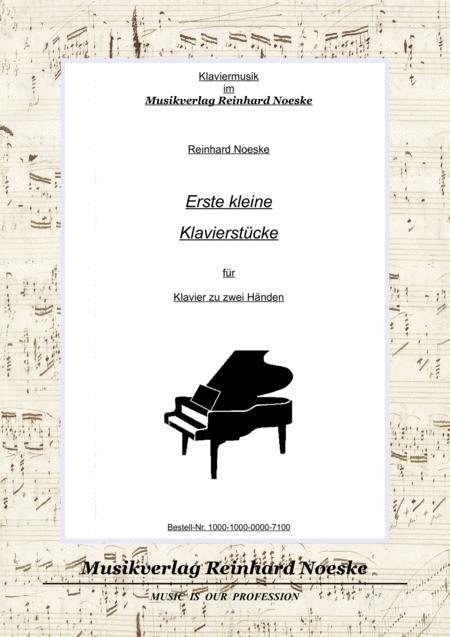 Erste kleine Klavierstücke/First Little Piano Pieces