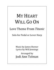 My Heart Will Go On (Love Theme from Titanic), Harp Solo