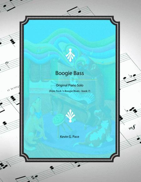 Boogie Bass - original piano solo