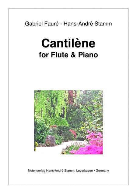 Cantilène for flute and piano by G. Fauré / H. A. Stamm