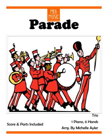 Parade (1 Piano, 6 Hands)