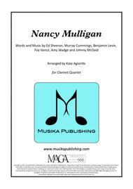 Nancy Mulligan - Ed Sheeran - for Clarinet Quartet
