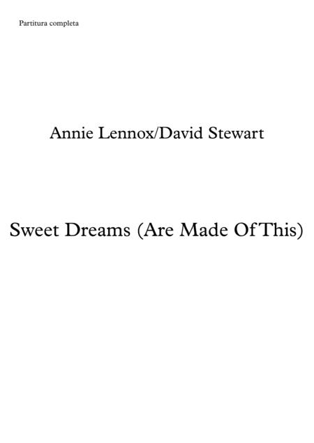 Sweet Dreams (Are Made Of This) - Brass Quintet