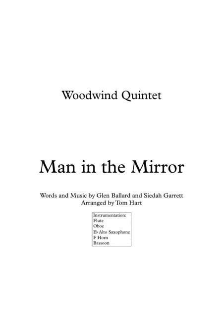 Man In The Mirror - Woodwind Quintet