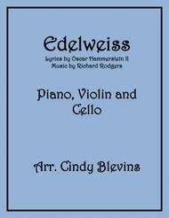 Edelweiss, arranged for Piano, Violin and (optional) Cello