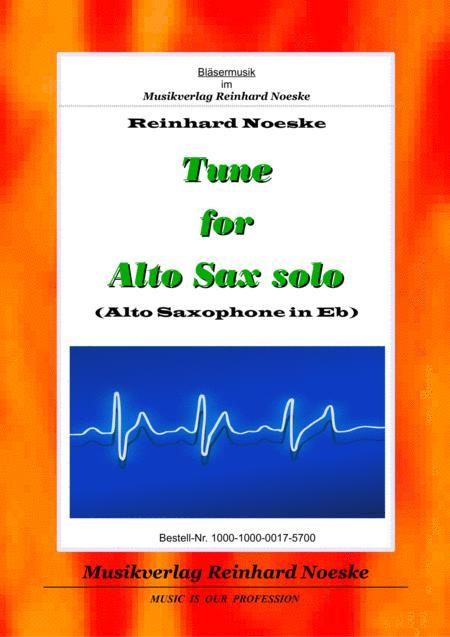 Tune for Alto Sax solo