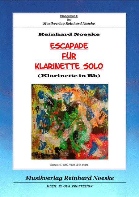 Escapade für Klarinette solo