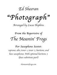 Photograph, for saxophone Sextet