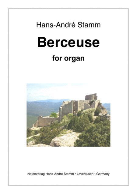 Berceuse for Organ