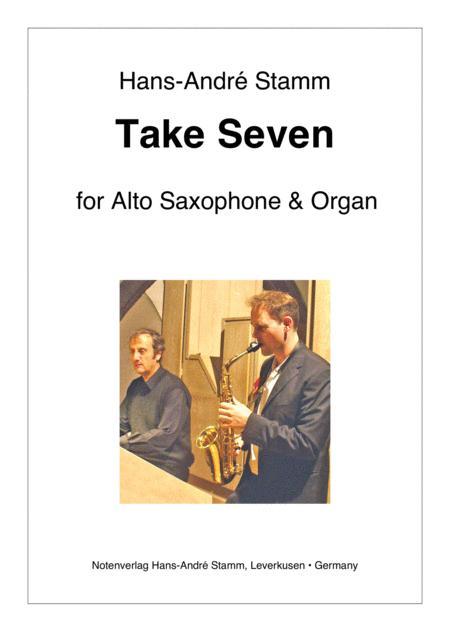 Take Seven for Alto Saxophone and Organ