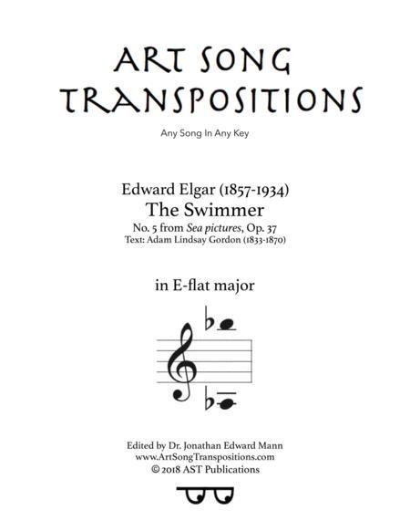 The Swimmer, Op. 37 no. 5 (E-flat major)