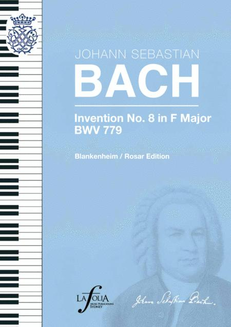 Invention 8 in F major BWV 779 Blankenheim / Rosar Edition