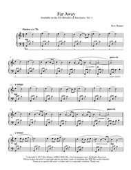 Far Away (Solo Piano)