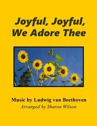 Joyful, Joyful, We Adore Thee (Piano Solo)