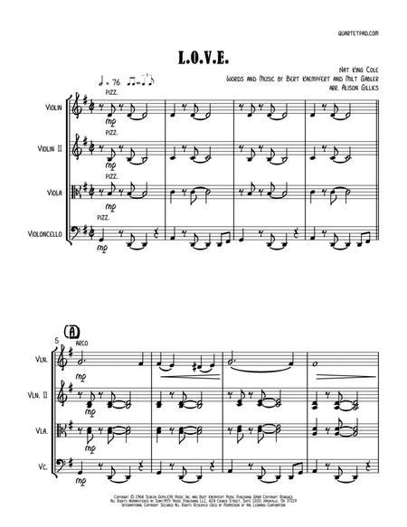 L-O-V-E - String Trio (vln/vla/vc)