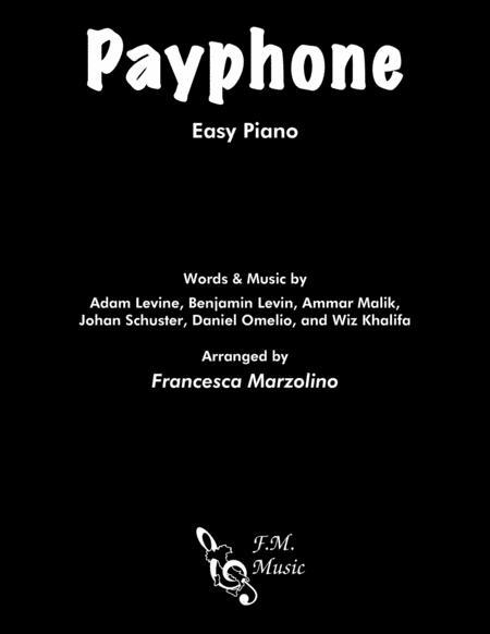 Payphone (Easy Piano)