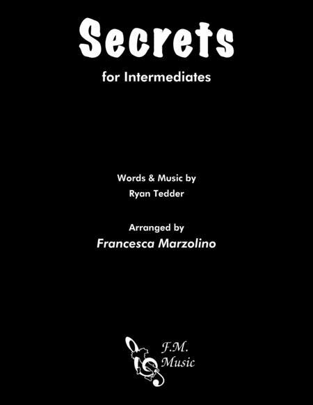 Secrets (Intermediate Piano)