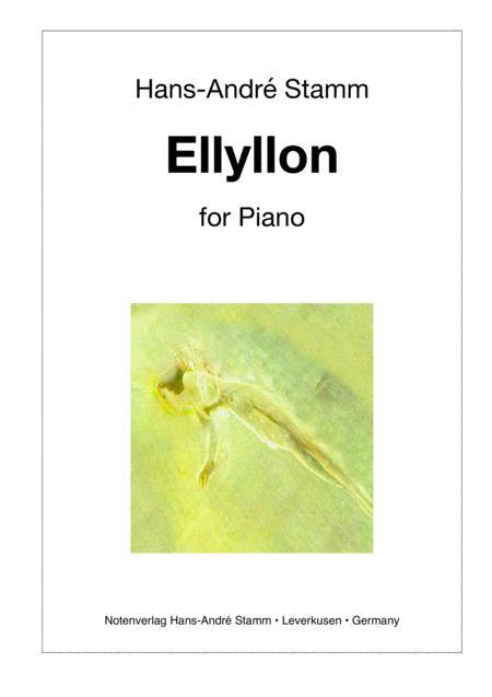 Ellyllon for Piano