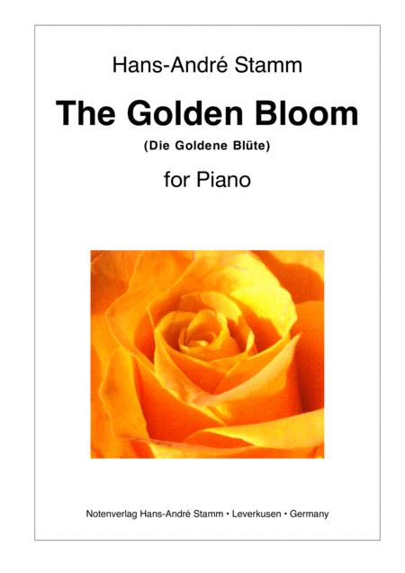 The Golden Bloom for Piano