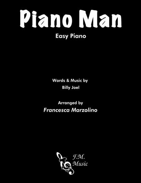 Piano Man (Easy Piano Version)