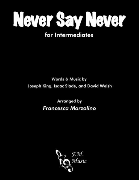 Never Say Never (for Intermediates)