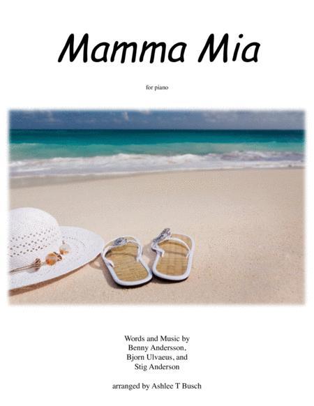Mamma Mia for Piano