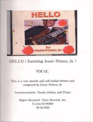 Hello Vocal ( featuring Jessie Primer, Jr. )