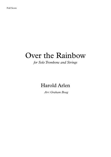 Over The Rainbow (for Trombone Solo and Strings)