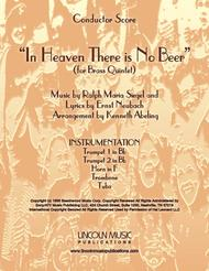 In Heaven There is No Beer (for Brass Quintet)